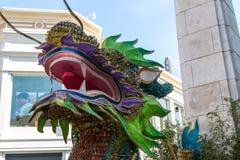 Año Nuevo del dragón chino Imagenes de archivo