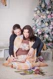 Año Nuevo del embarazo Fotos de archivo
