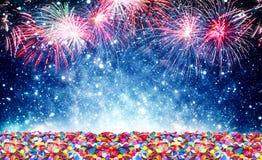 Año Nuevo del fondo Imagen de archivo libre de regalías