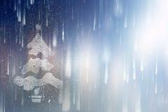 Año Nuevo del fondo Blurred que brilla intensamente Imágenes de archivo libres de regalías