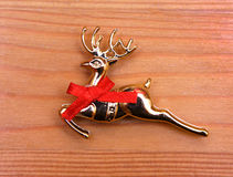 Año Nuevo del juguete del reno de la Navidad de Navidad Fotografía de archivo libre de regalías
