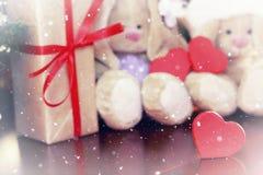 Año Nuevo del juguete suave de la linterna Foto de archivo libre de regalías