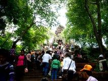 Año Nuevo del Khmer, el Banan Imágenes de archivo libres de regalías