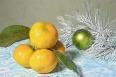 Año Nuevo del mandarín Fotografía de archivo libre de regalías