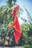 Año Nuevo del Marathi de Gudi Padwa Foto de archivo libre de regalías