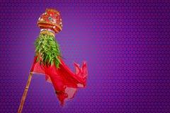Año Nuevo del Marathi de Gudi Padwa Imagenes de archivo