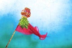 Año Nuevo del Marathi de Gudi Padwa Imágenes de archivo libres de regalías
