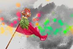 Año Nuevo del Marathi de Gudi Padwa Foto de archivo