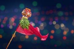 Año Nuevo del Marathi de Gudi Padwa Imagen de archivo