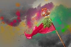 Año Nuevo del Marathi de Gudi Padwa Fotografía de archivo