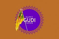 Año Nuevo del Marathi de Gudi Padwa fotos de archivo libres de regalías