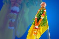 Año Nuevo del Marathi de Gudi Padwa fotografía de archivo libre de regalías