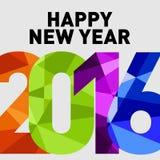 Año Nuevo 2016 del mono Fotografía de archivo libre de regalías