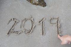 Año Nuevo del número fotografía de archivo libre de regalías