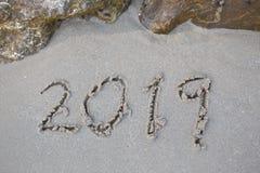 Año Nuevo del número imagen de archivo libre de regalías