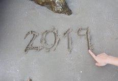 Año Nuevo del número imagen de archivo