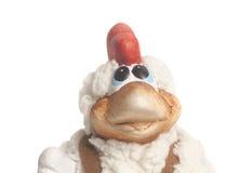 Año Nuevo del símbolo del recuerdo del juguete del gallo Fotos de archivo libres de regalías