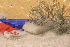 Año Nuevo del sombrero Imágenes de archivo libres de regalías