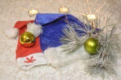 Año Nuevo del sombrero Imagenes de archivo
