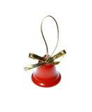 Año Nuevo del tintineo rojo de la decoración de las campanas de la Navidad de Navidad Imagen de archivo