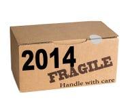 Año Nuevo - dirija con cuidado Fotos de archivo