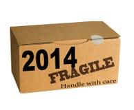 Año Nuevo - dirija con cuidado Imagenes de archivo