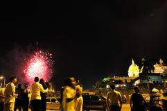 Año nuevo en Cartagena, neues Jahr Lizenzfreies Stockbild