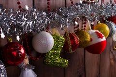 Año Nuevo en el pueblo Fotografía de archivo libre de regalías