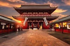 Año Nuevo en el templo de Sensoji Fotografía de archivo