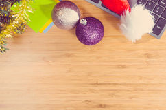 Año Nuevo en el trabajo Imagen de archivo libre de regalías