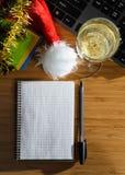 Año Nuevo en el trabajo Foto de archivo
