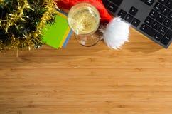 Año Nuevo en el trabajo Fotos de archivo libres de regalías