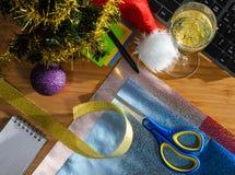 Año Nuevo en el trabajo Imagenes de archivo