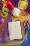 Año Nuevo en el trabajo Fotos de archivo
