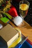 Año Nuevo en el trabajo Fotografía de archivo libre de regalías