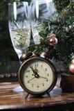Año Nuevo en estilo retro antiguo Foto de archivo libre de regalías