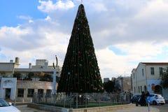 Año Nuevo en Haifa Imágenes de archivo libres de regalías