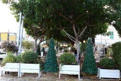Año Nuevo en Haifa Foto de archivo