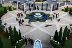 Año Nuevo en Haifa Foto de archivo libre de regalías
