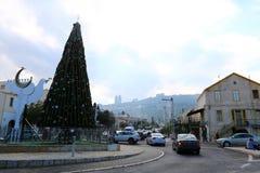 Año Nuevo en Haifa Fotos de archivo libres de regalías