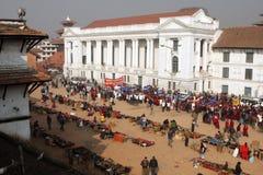 Año Nuevo en Katmandu Fotografía de archivo