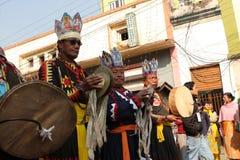 Año Nuevo en Katmandu Imagen de archivo libre de regalías