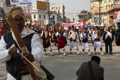 Año Nuevo en Katmandu, Nepal Fotografía de archivo libre de regalías