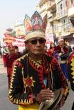 Año Nuevo en Katmandu, Nepal Imágenes de archivo libres de regalías