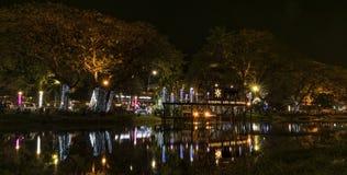 Año Nuevo en la ciudad Siem Reap en Camboya Imagen de archivo