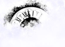 Año Nuevo en la medianoche Fotografía de archivo