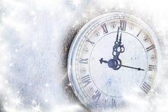 Año Nuevo en la medianoche Foto de archivo