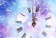 Año Nuevo en la medianoche Imagen de archivo