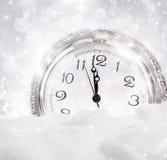 Año Nuevo en la medianoche Fotos de archivo