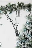 Año Nuevo en la medianoche Fotos de archivo libres de regalías